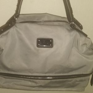 Nine West leather, Nylon grey&Blk bag